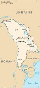 General Map of Moldova