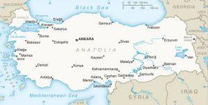 general map of Turkey