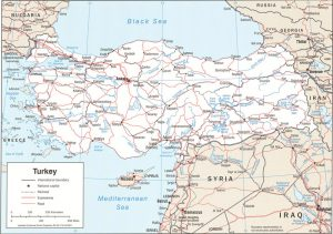 Turkey's political map