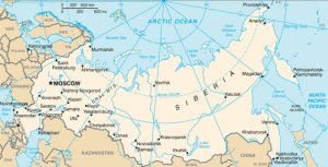 Global map of Russia